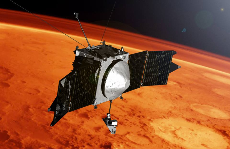 Maven over Mars