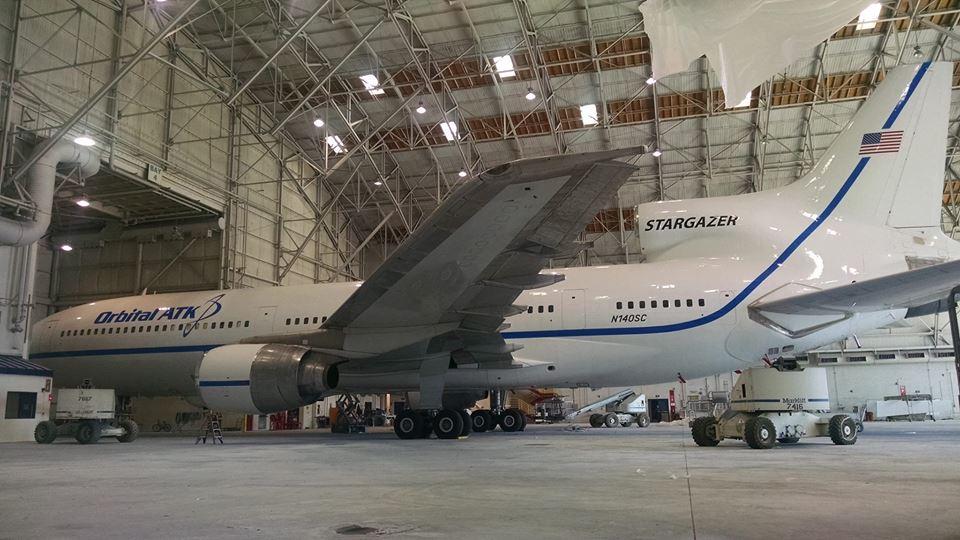 Pegasus Launch Aircraft