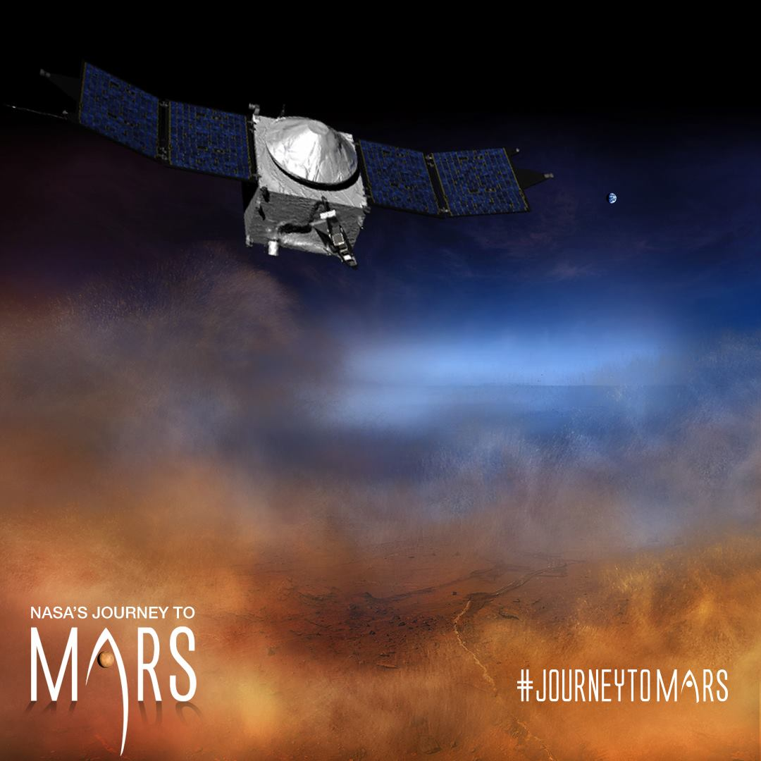 Photo courtesy of NASA's MAVEN Mission to Mars